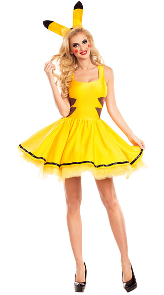 Catch Me Honey Costume - As Shown