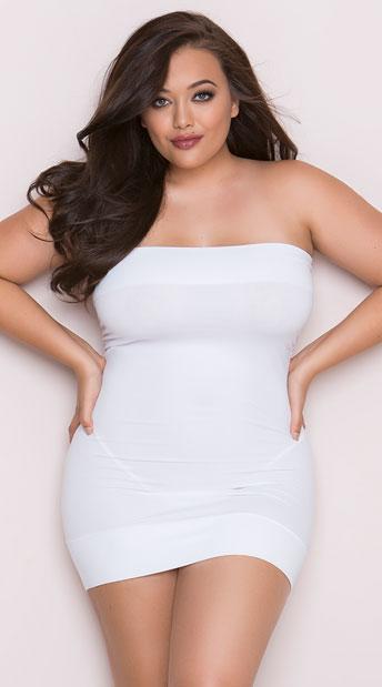Plus Size Perfect Tube Dress Plus Size Little Black Dress