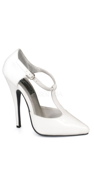 T-Strap D'Orsay Style Pump with 6