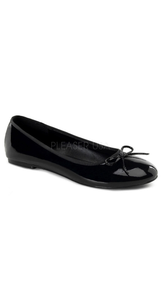 Adult Ballet Flat W/ Bow Accent, Classic