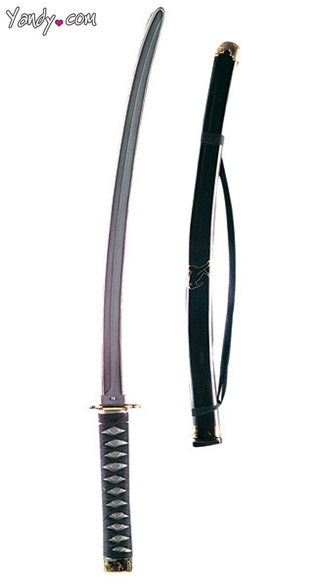 Japanese Ninja Sword Accessory - As Shown