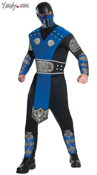 Subzero Costume - Black/Blue