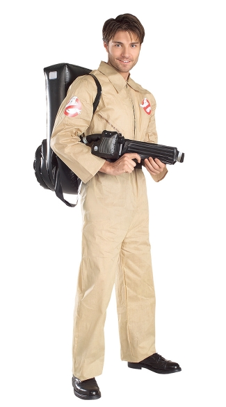 Mens Ghostbusters Costume, Adult Ghostbuster Costume