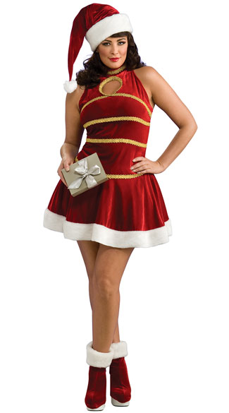 hair styles for plus size santa sweetie costume santa costume mrs claus 4995