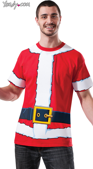 Men's Santa Shirt - Red