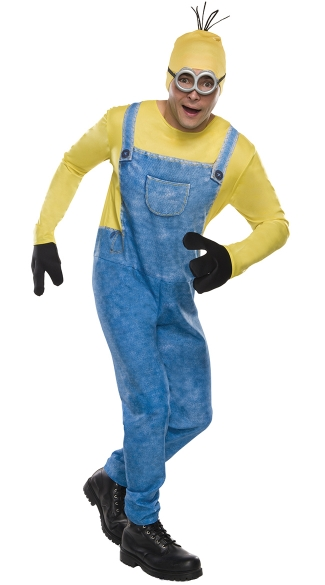 Men\'s Minion Kevin Costume, Men\'s Minion Costume, Despicable Me Costume