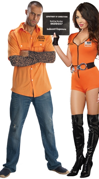 Locked Up Inmate Couples Costume  sc 1 st  Yandy & Locked Up Inmate Couples Costume Prisoner Couples Costume Couples ...