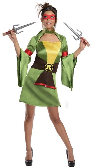 TMNT Raphael Kimono Costume - Green