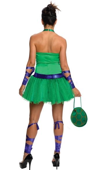 TMNT Female Donatello Costume - Green