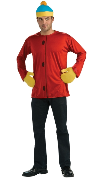 South Park Cartman Costume, South Park Main Character Foam Costume, Foam Eric Cartman Costume