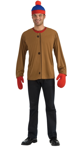 South Park Stan Costume, South Park Main Character Foam Costume, Foam Stan Marsh Costume