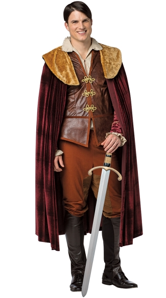 Once Upon A Time Prince Charming Costume, Prince Halloween Costume, Costume for Prince