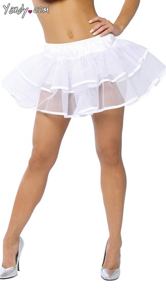 Double Layer Petticoat, Layered Petticoat, Dual Layer Skirt