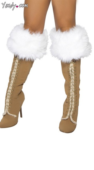 Fur Boot Cuffs - As Shown