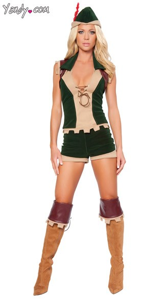 Robyn Hood Costume - As Shown