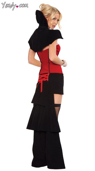 Deluxe Blood Sucker Costume - As Shown