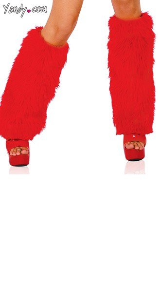 Fur Boot Covers, Winter Fur Leg Warmers, Sexy Christmas Boot Covers