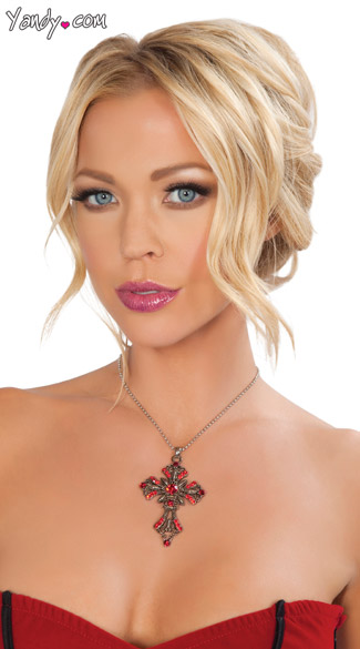 Cross Necklace - As Shown