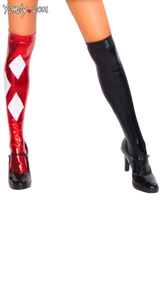 Sexy Clown Stockings - As Shown