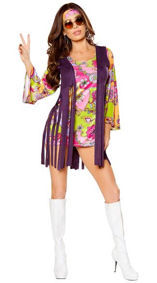 Groovy Hippie Costume Sexy Hippie Costume Sexy 60s Costume