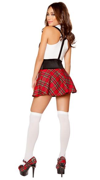 teasing schoolgirl costume red schoolgirl costume sexy