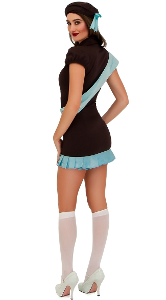 Brownie Scout Costume - As Shown