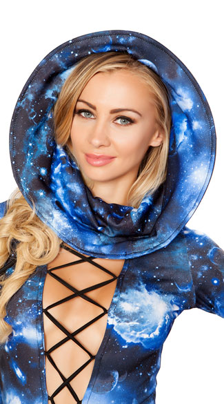 Wired Galaxy Hood - Galaxy