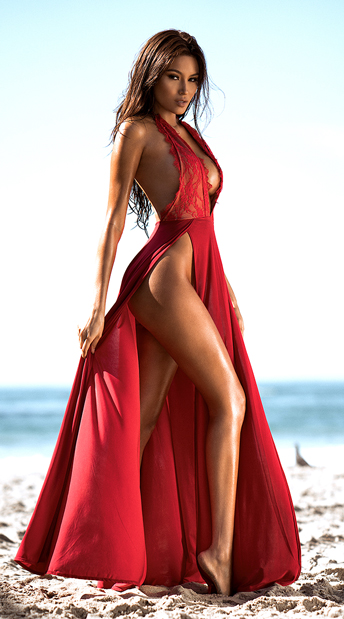 Radiant Red Dress, Red Lace Dress - Yandy.com