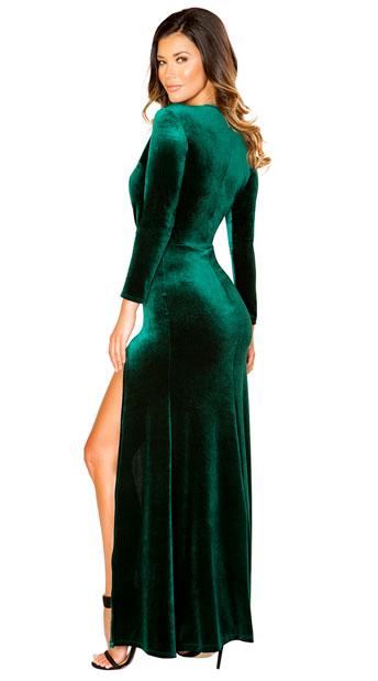Green Temptations Maxi Dress - Green