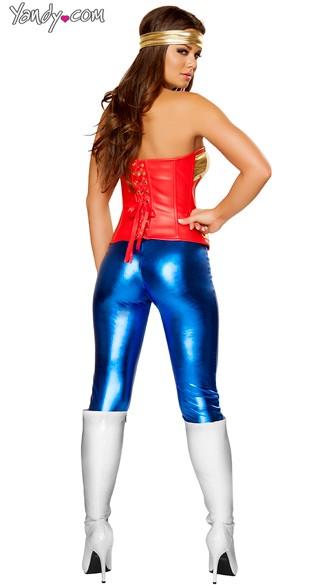Comic Cutie Costume - Blue/Red