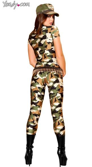 Camo Cutie Costume - Camouflage