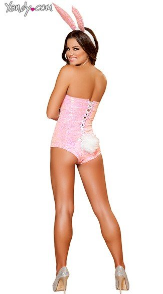 Bunny Babe Costume - Pink