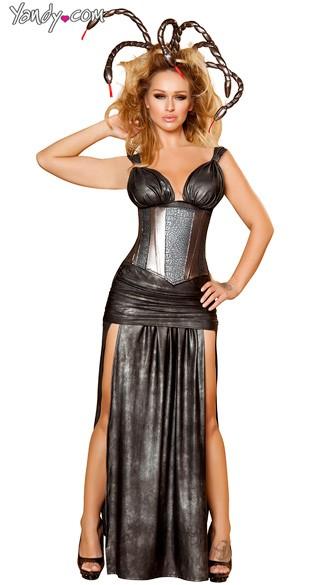 Sexy Medusa Costume - Black