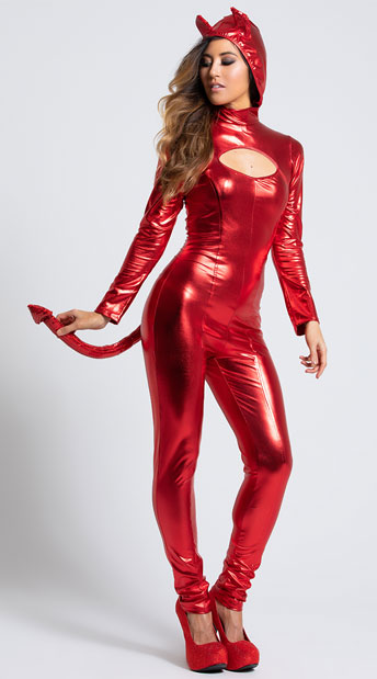 Darling Devil Costume - Red