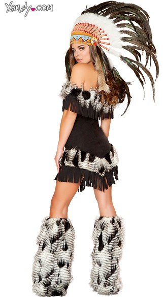 Deluxe Native American Princess Costume - As Shown
