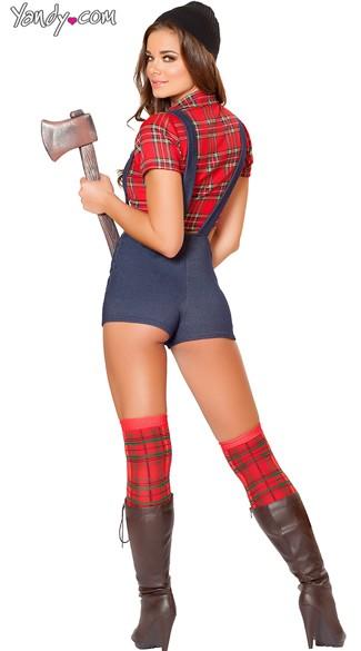 Sexy lumber jack costume