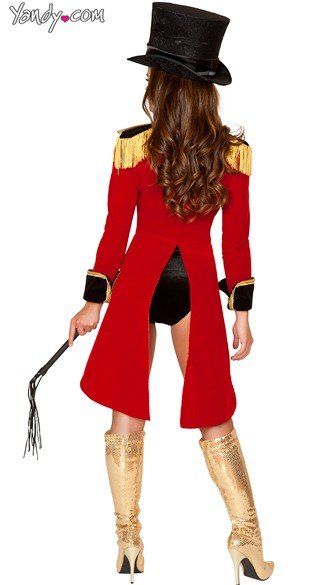 Deluxe Ringleader Costume - As Shown