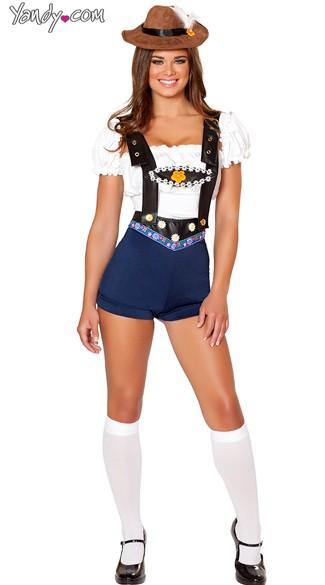 Hillside Heidi Costume - As Shown