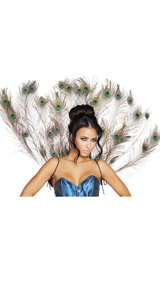 Peacock Tail Feather, Peacock Wings, Costume Wings