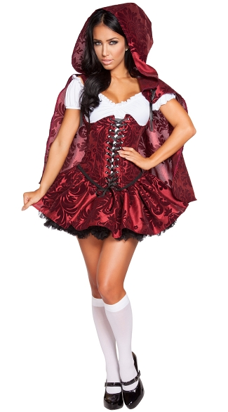 Lusty Lil\' Red Costume, Sexy Red Riding Hood Costume, Fairytale Costume