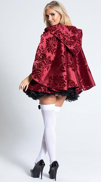 Lusty Lil' Red Costume - Burgundy