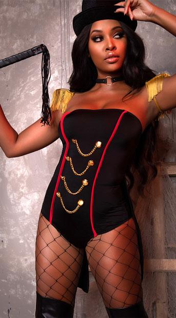 Ravishing Ringleader Costume - Black/Gold