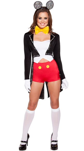 Mousy Maiden Costume, Hot Mouse Costume, Sexy Mouse Costume