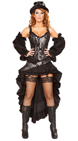 Steampunk Costume, Steampunk Halloween Costumes, Steam Punk Costumes