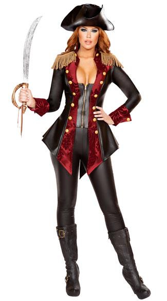 Adventurous Pirate Babe Costume Sexy Pirate Costume