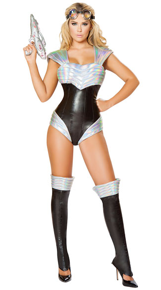 Sexy Space Cadet Costume, Sexy Space Costume, Sexy -1806