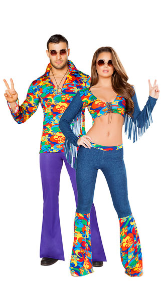 Groovy Love Couples Costume  sc 1 st  Yandy & Groovy Love Couples Costume Groovy Love Child Costume Sexy Hippie ...