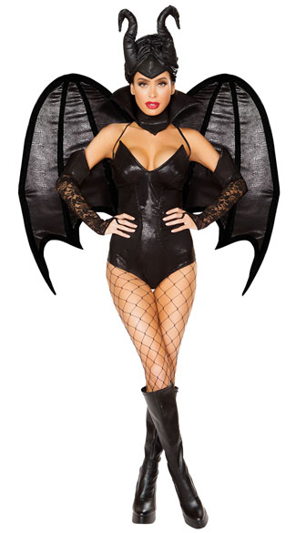 sc 1 st  Yandy & 4pc Vengeful Fairy Costume Evil Fairy Costume - Yandy.com