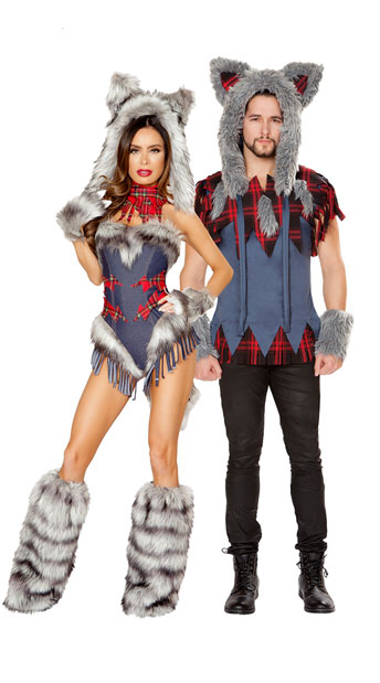 Big Bad Wolf Costume - as shown
