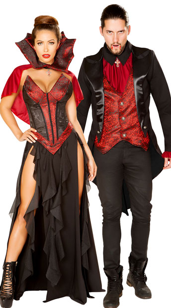 Blood Lusting Couples Costume - as shown